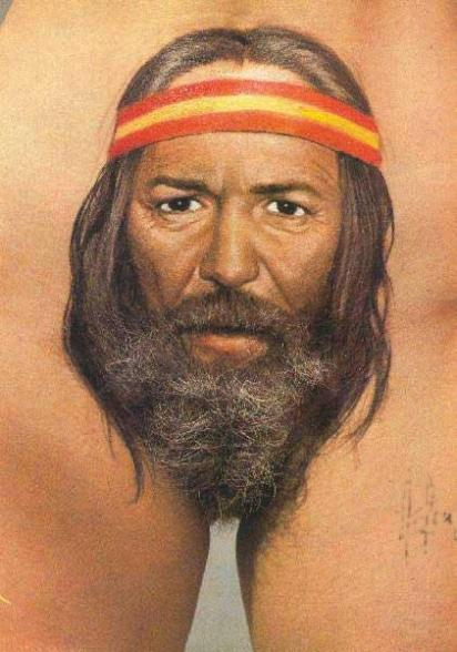 On connait enfin le sexe de Willy Nelson :) - willy nelson tattoo