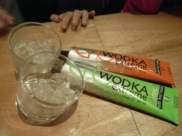 De la vodka en gel !? - wodka gel